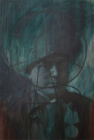 oil on canvas, 140X95 cm